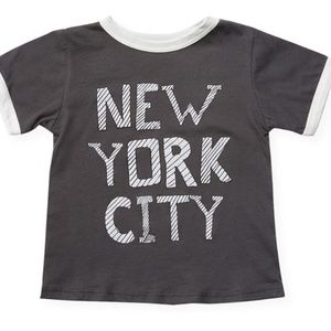 BRAND NEW Rowdy Sprouts New York City Tee sz6